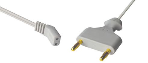 Bipolar Cables Reusable Electrosurgery Alimtype
